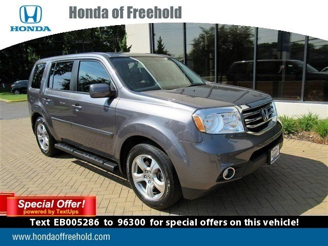 certified pre owned 2014 honda pilot ex l sport utility in freehold t3116 honda of freehold. Black Bedroom Furniture Sets. Home Design Ideas